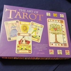 The Art of Tarot Cards & Book by Liz Dean
